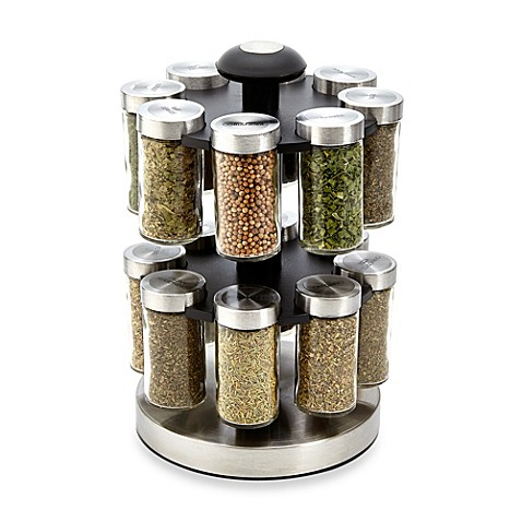 Kamenstein 174 Lexington 16 Jar Spice Rack Bed Bath Amp Beyond