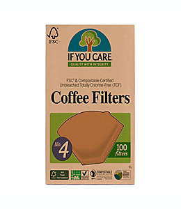 Filtros para café 100 piezas