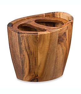 Portacepillos de dientes madera de acacia Taymor® Vanity