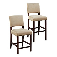 Brown Bar Stools Amp Counter Stools Wood Bed Bath Amp Beyond