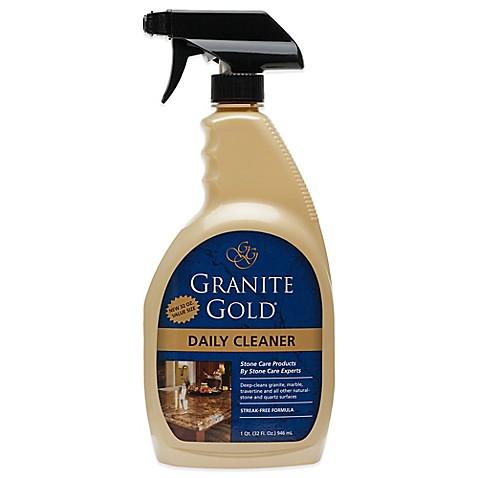 Granite Cleaner : granite gold 32 ounce daily cleaner granite gold daily cleaner keeps ...