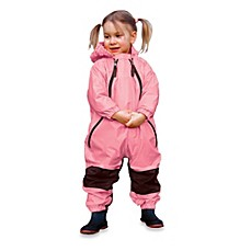 image of Tuffo Muddy Buddy Rain Suit in Pink