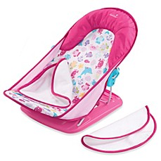 image of Summer Infant® Bath Tub Sling with Warming Wings in Pink