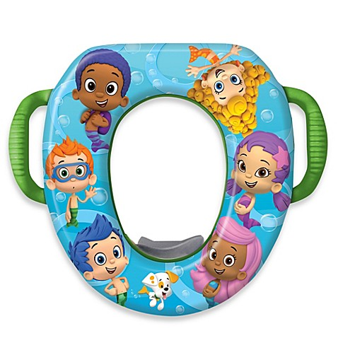 Delicieux Nickelodeon Bubble Guppies Soft Potty Seat