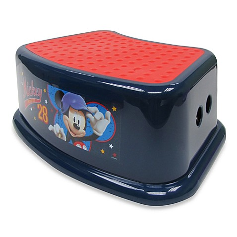 Ginsey Disney 174 Mickey Mouse Step Stool Buybuy Baby