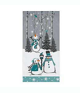 Toallas desechables de papel Creative Converting™ con muñecos de nieve, 20 piezas
