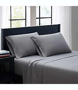 Set de sábanas individual SALT™ Truly Soft de microfibra  en gris, 3 piezas