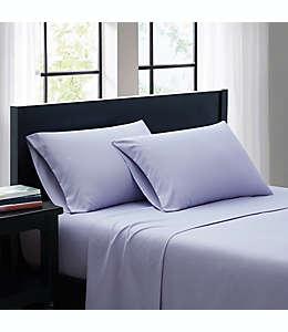 Set de sábanas individual SALT™ Truly Soft de microfibra  en lila, 3 piezas