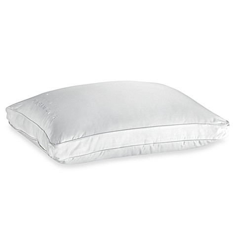 Buy wamsuttar dream zoner synthetic down standard queen for Best pillow for side sleepers bed bath and beyond