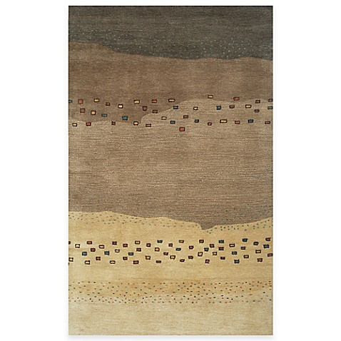 mojave area rugs in beige brown bed bath beyond. Black Bedroom Furniture Sets. Home Design Ideas