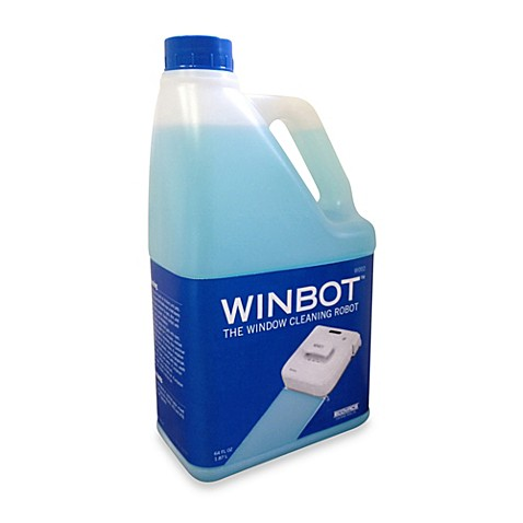 buy winbot professional cleaning solution 1 2 gallon refill from bed bath beyond. Black Bedroom Furniture Sets. Home Design Ideas