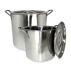 image of Cook Pro® 2-Piece Stock Pot Set in Stainless Steel
