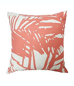 Cojín decorativo cuadrado One Kings Lane Open House™ Palm Beach en coral