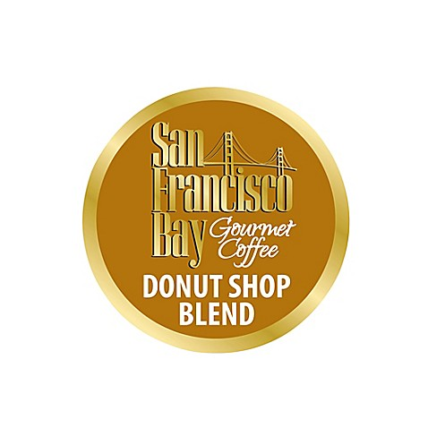 36count san francisco bay donut shop coffee for single serve coffee makers - Donut Shop Coffee