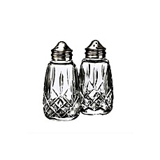 image of Waterford® Lismore Crystal Salt and Pepper Shakers