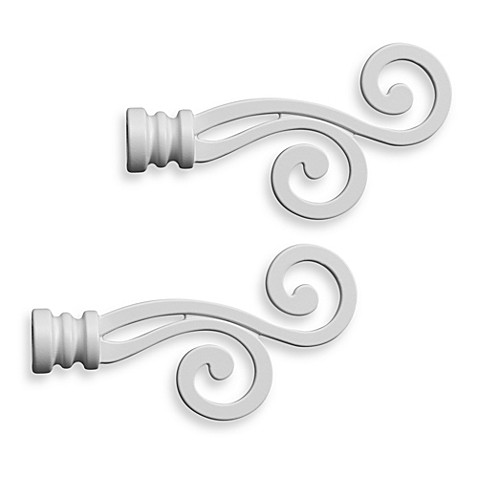 Attach Finial To Curtain Rod Bed Bath And Beyond
