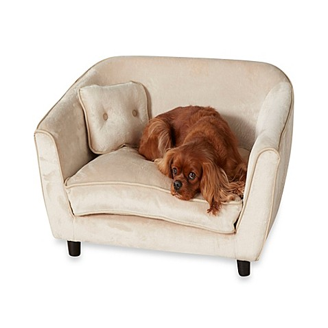 Enchanted Home Pet Ultra Plush Astro Sofa Bed In Oyster Bed Bath Beyond