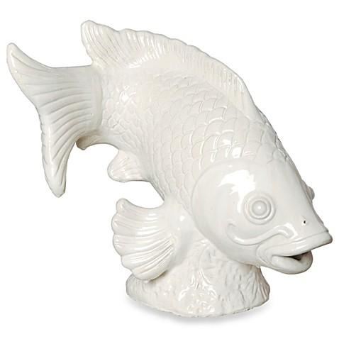Emissary large koi fish sculpture bed bath beyond for Koi fish large