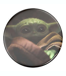 Soporte para celular PopSocket® StarWars™ Baby Yoda con tapa intercambiable