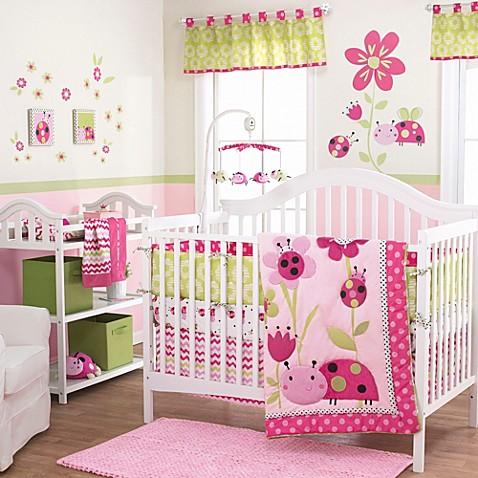 Lil Ladybug  Piece Baby Crib Bedding Set By Belle