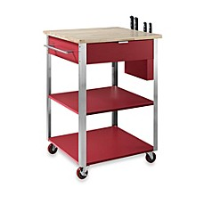 Delightful Image Of Crosley Culinary Rolling Prep Kitchen Cart