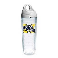 image of Tervis® University of Michigan Wolverines 24-Ounce Emblem Water Bottle with Lid