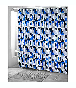 Cortina de baño Now House by Jonathan Adler Bleecker en azul