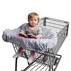 image of Boppy® Shopping Cart Cover in Park Gate Grey