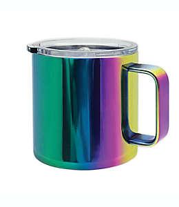 Taza de acero inoxidable Oggi™ color arcoíris