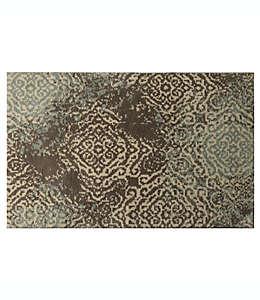 Tapete decorativo Bacova Cashlon de 68.57 cm x 1.04 m en café