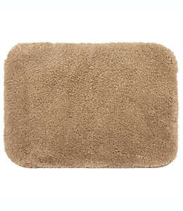 Tapete de poliéster microdenier para baño Wamsutta® Aire color café pardo