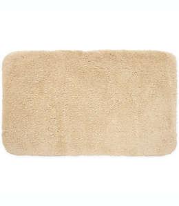 Tapete para baño de poliéster microdenier Wamsutta® Aire color lienzo