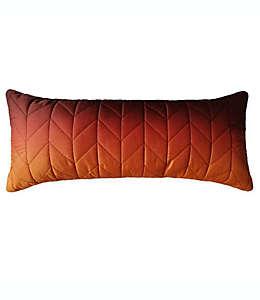Cojín decorativo Wamsutta® Puffer color naranja