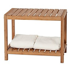 image of creative bath ecostyles bamboo spa vanity bench