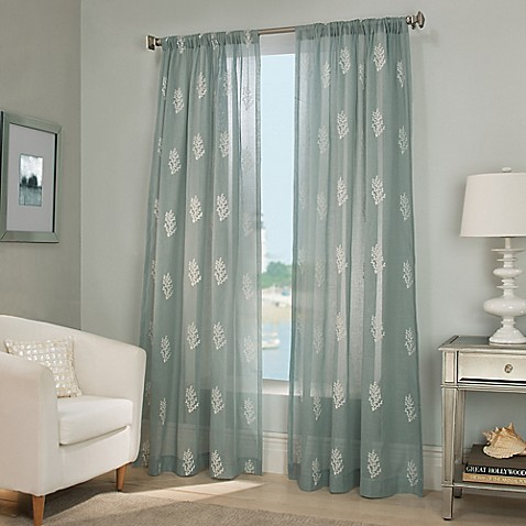 Reef Sheer Window Curtain Panel Bed Bath Amp Beyond