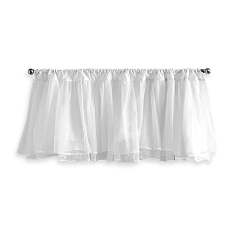 Tadpoles™ by Sleeping Partners Tulle Valance in White
