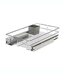 Organizador deslizante ORG™ Org Steel de 50.8 x 27.94 cm en cromo