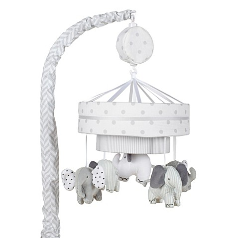 Just Born Hattie Ellie Collection Musical Mobile Bed