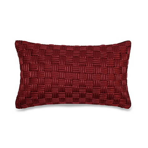 Basket Weave Cord Oblong Throw Pillow - Bed Bath & Beyond