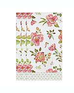 Toallas desechables de papel Fancy Floral, 32 piezas