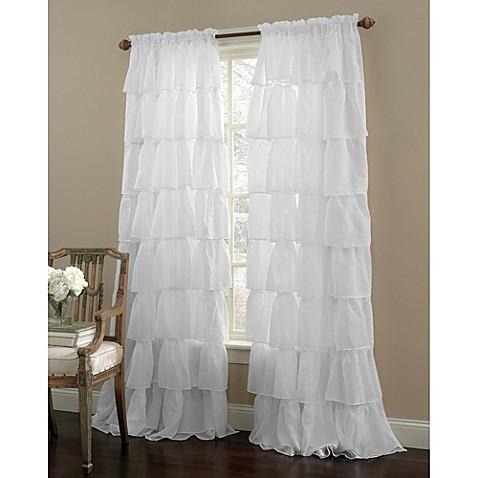 gypsy rod pocket window curtain panel - bed bath & beyond