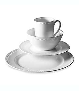 Vajilla de porcelana Studio TU Tabletops Unlimited® Otella, Set de 16 piezas