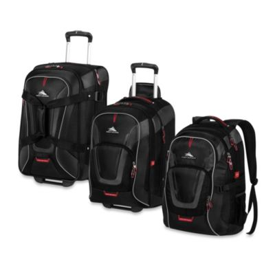 High Sierra AT7 Luggage Collection in Black Bed Bath Beyond