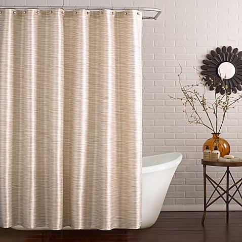 Deron Shower Curtain in Marble - Bed Bath & Beyond