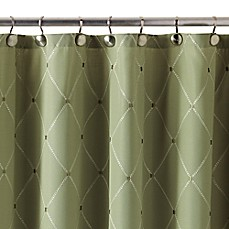Periodic table of elements shower curtain bed bath beyond wellington shower curtain in green urtaz Images