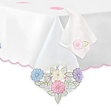 image of Jasmine Tablecloth & Napkin