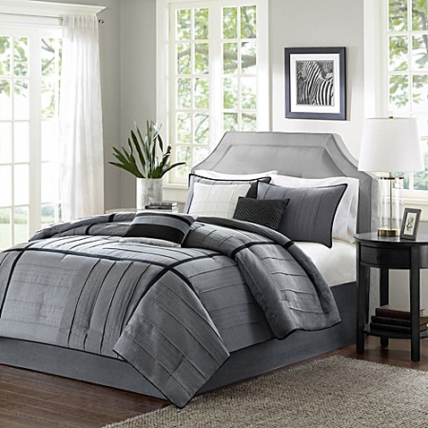gray bed sets buy park bridgeport collection 7 california 11714