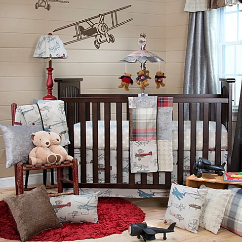 glenna jean flyby crib bedding collection