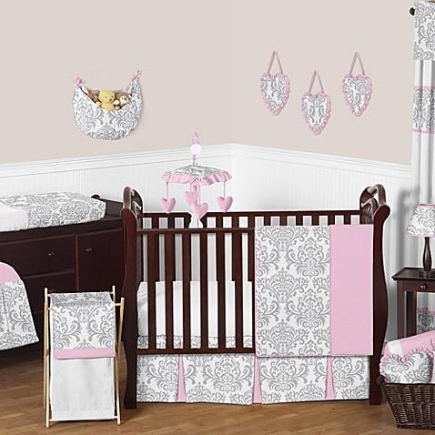 Sweet Jojo Designs Damask Crib Bedding