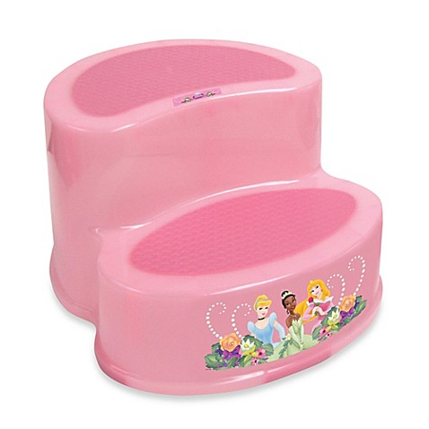 Ginsey Disneyu0026reg; Princess 2-Tier Step Stool  sc 1 st  Bed Bath u0026 Beyond & Ginsey Disney® Princess 2-Tier Step Stool - Bed Bath u0026 Beyond islam-shia.org
